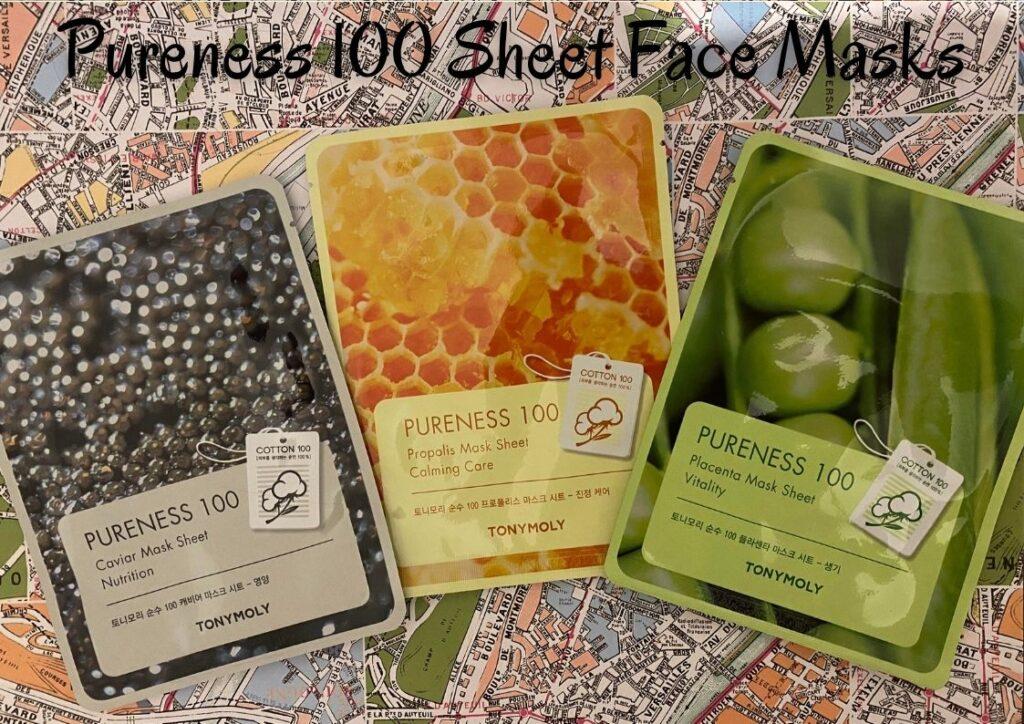 Pureness 100 Sheet Face Masks