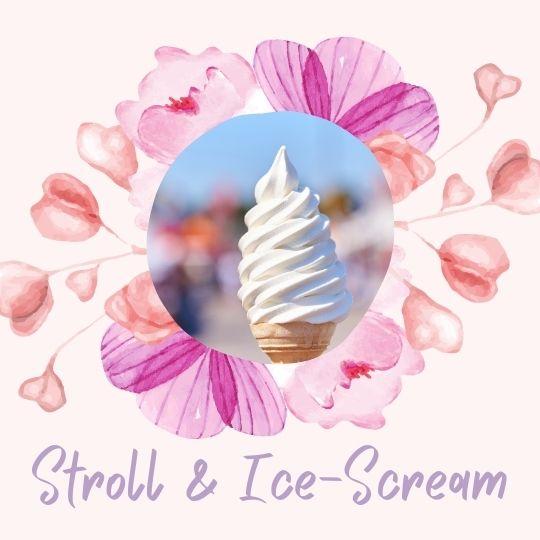 4. A nice stroll, with ice-scream