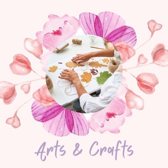 5. Arts & crafts / DIY projects