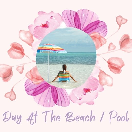 6. Day at the beach / swimming pool