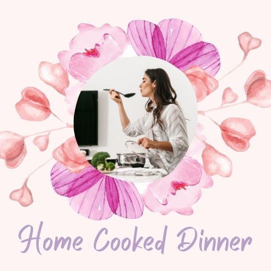 7. Home cooked dinner date