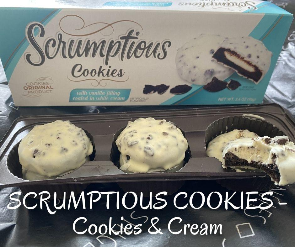 SCRUMPTIOUS COOKIES - Cookies & Cream