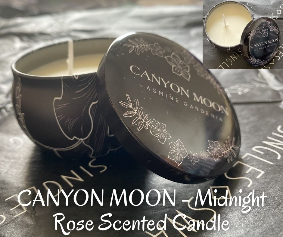 CANYON MOON - Midnight Rose Scented Candle