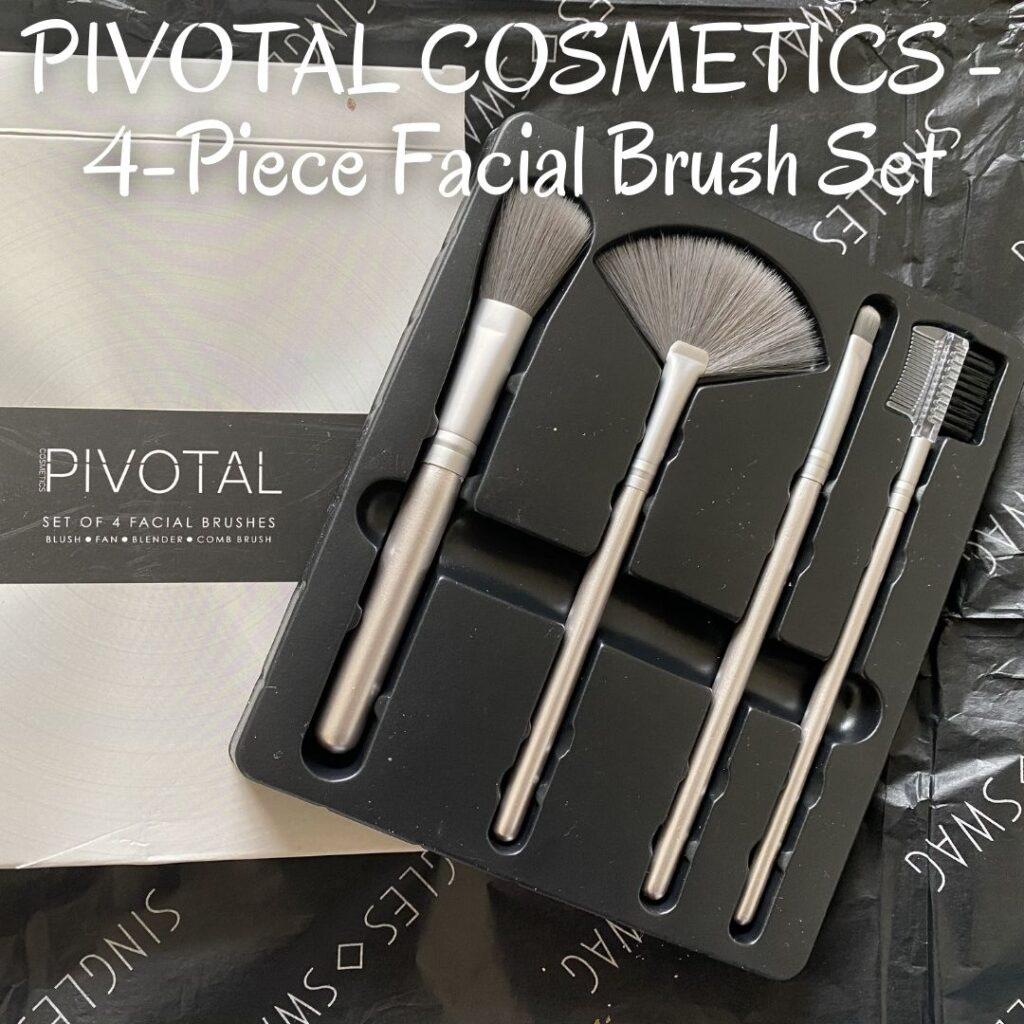 PIVOTAL COSMETICS - 4-Piece Facial Brush Set