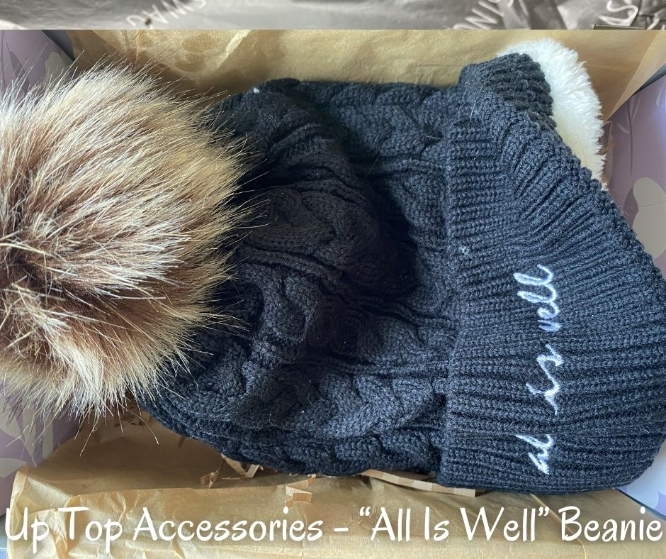 """Up Top Accessories - """"All Is Well"""" Beanie"""