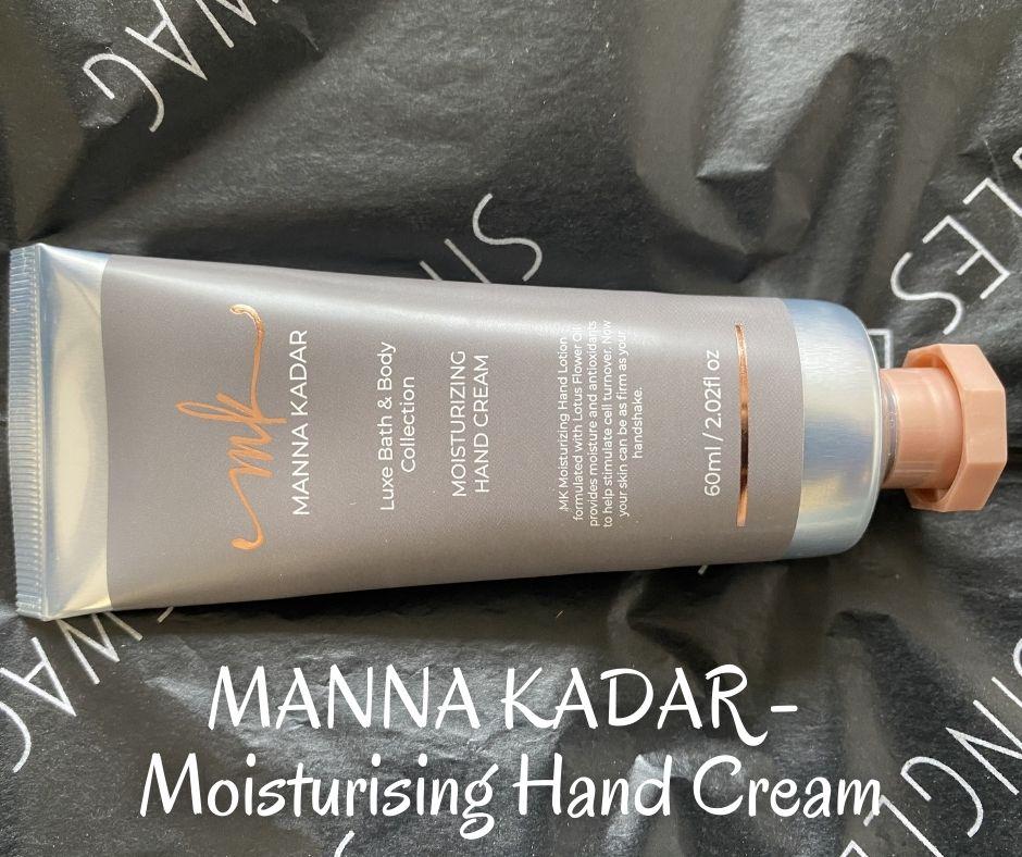 MANNA KADAR - Moisturising Hand Cream
