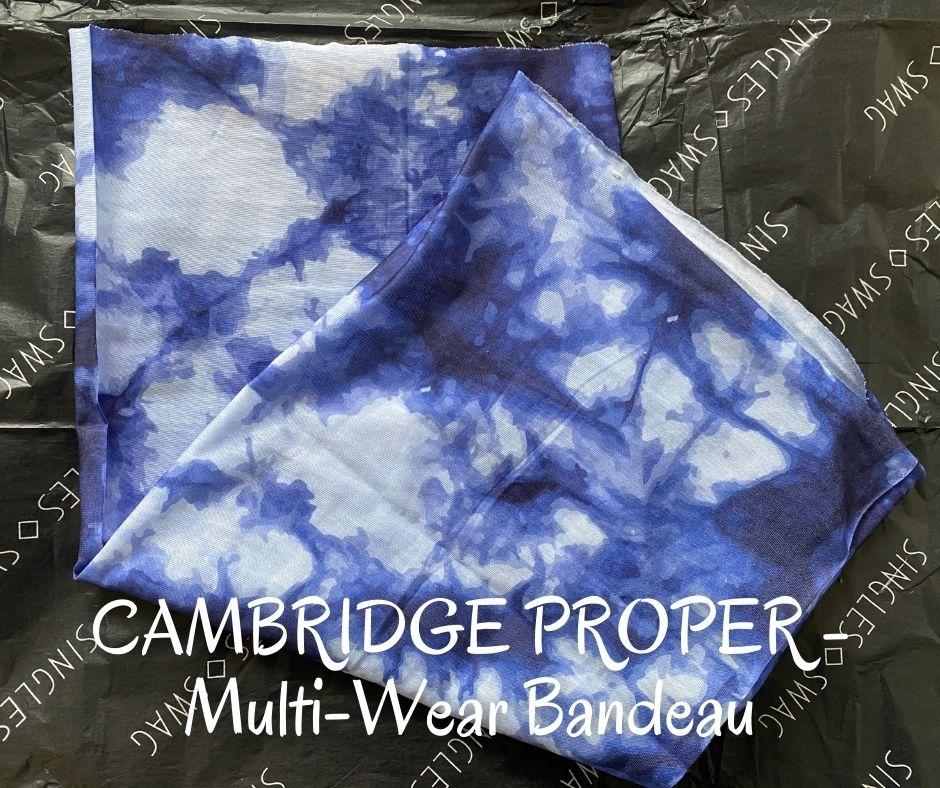 CAMBRIDGE PROPER - Multi-Wear Bandeau