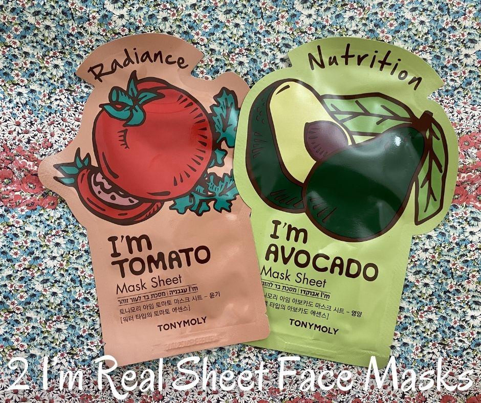 2 I'm Real Sheet Face Masks