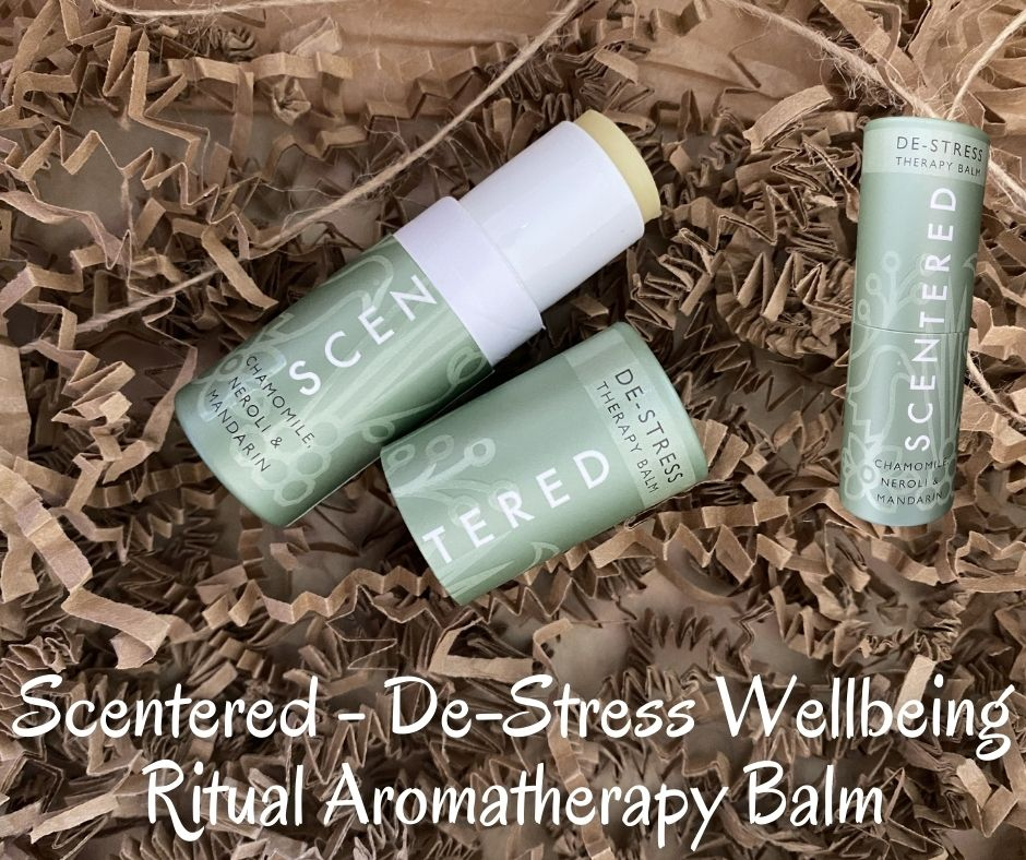 Scentered - De-Stress Wellbeing Ritual Aromatherapy Balm