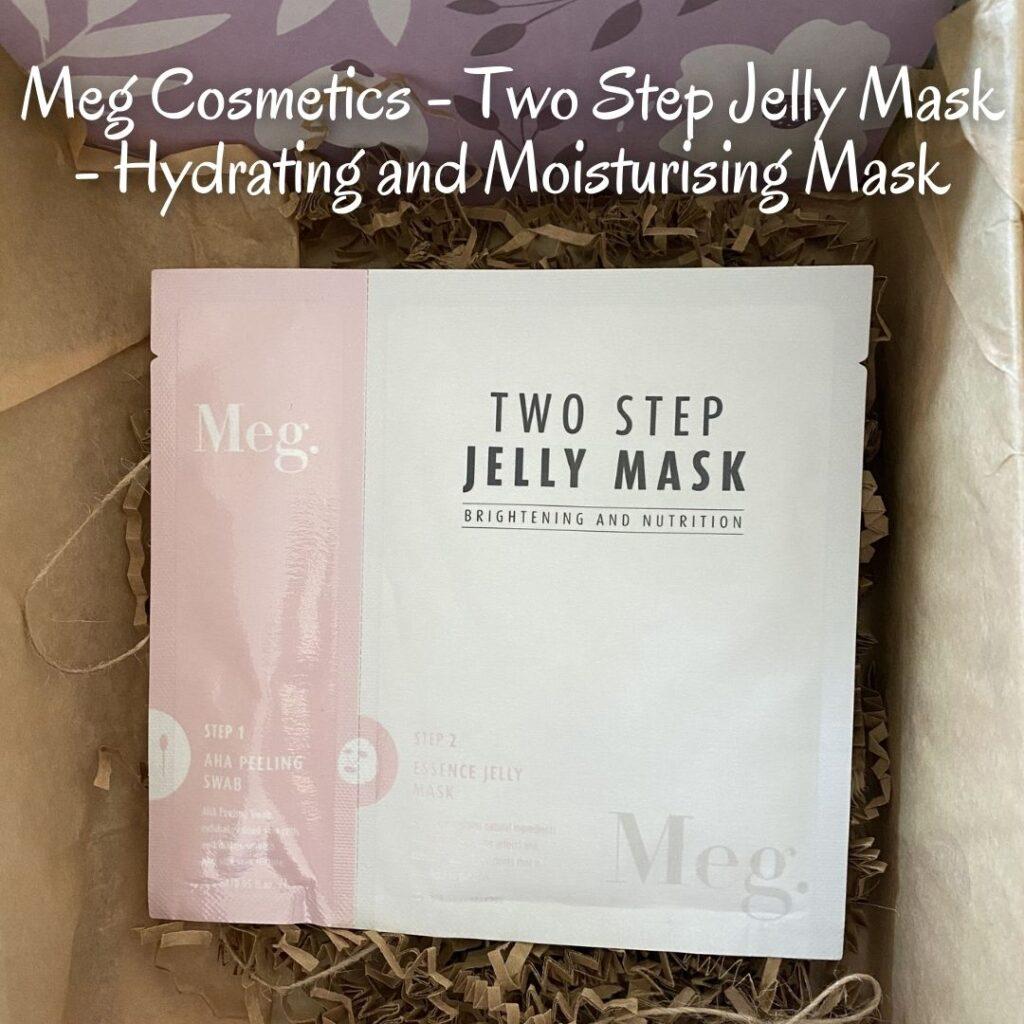 Meg Cosmetics - Two Step Jelly Mask - Hydrating and Moisturising Mask