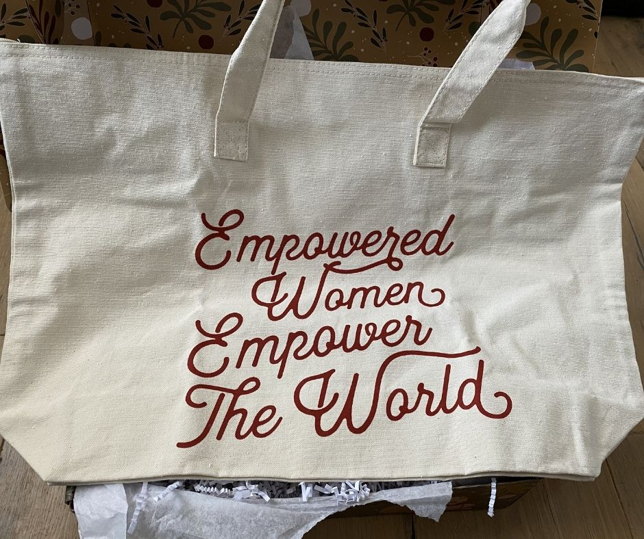 Empowered Women Empower The World Large Tote