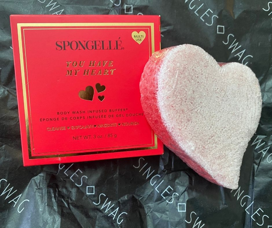 SPONGELLE - 'You Have My Heart' Body Wash Infused Buffer | $20