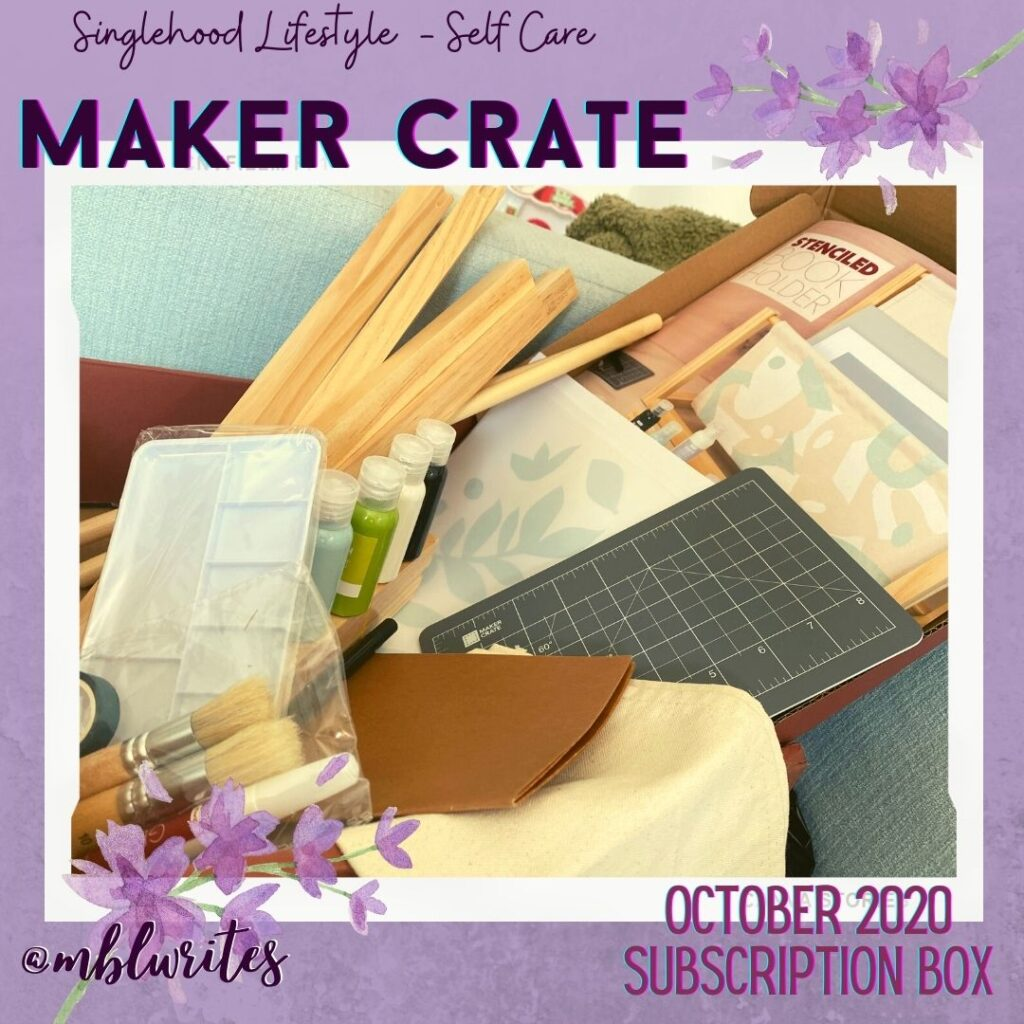 Maker Crate Book Holder