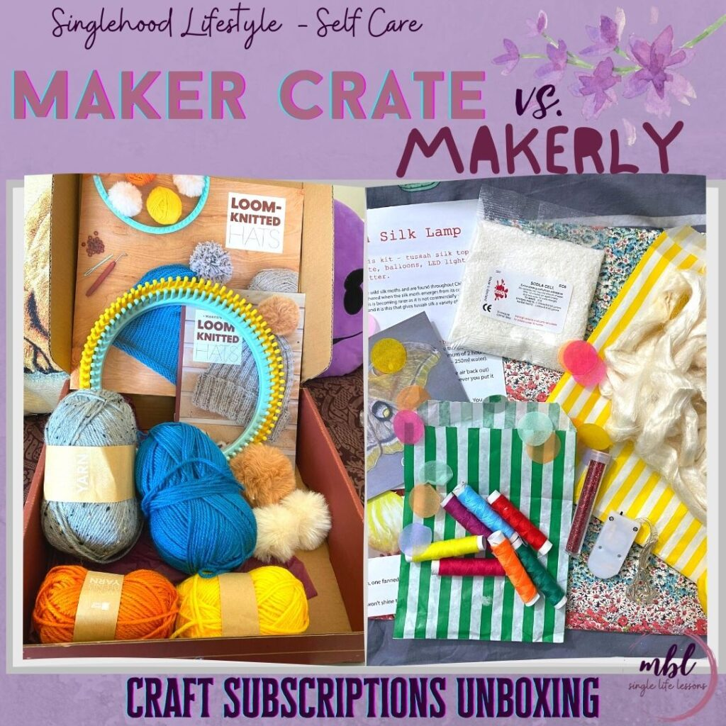 maker crate vs. makerly craft subscription boxes