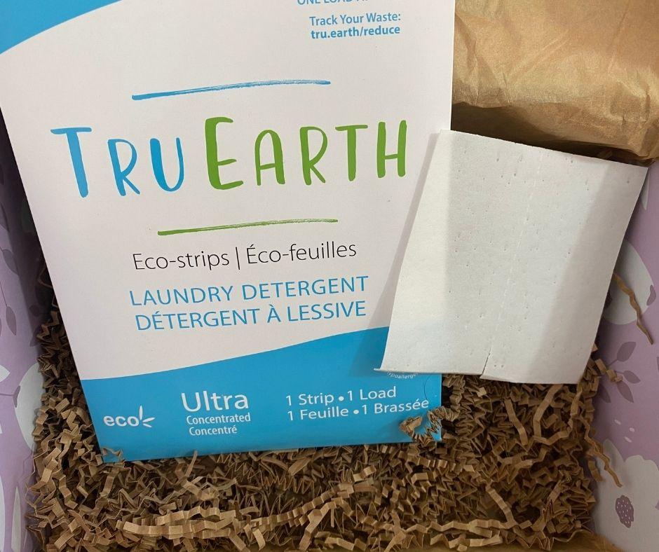 TRU EARTH | TRU EARTH ECO-STRIPS LAUNDRY DETERGENT | WWW.TRU.EARTH | $19.95