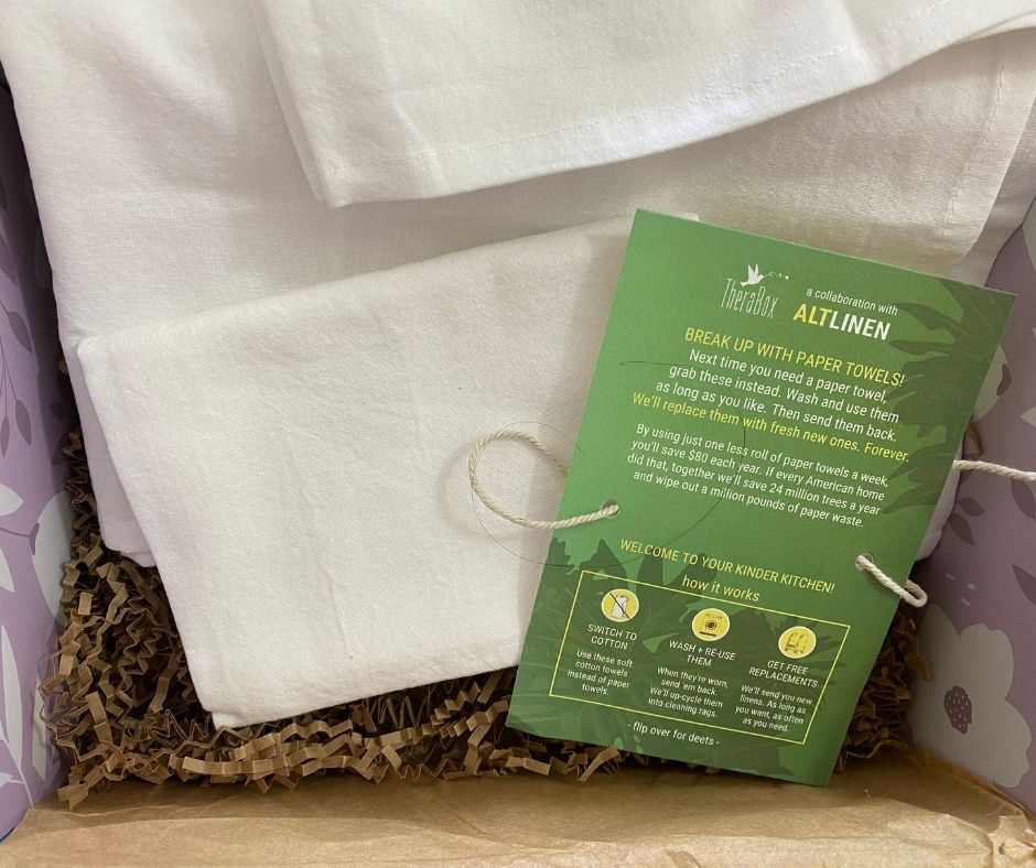 ALT LINEN | PAIR OF FOREVER KITCHEN TOWELS | WWW.ALTLINEN.COM | $30