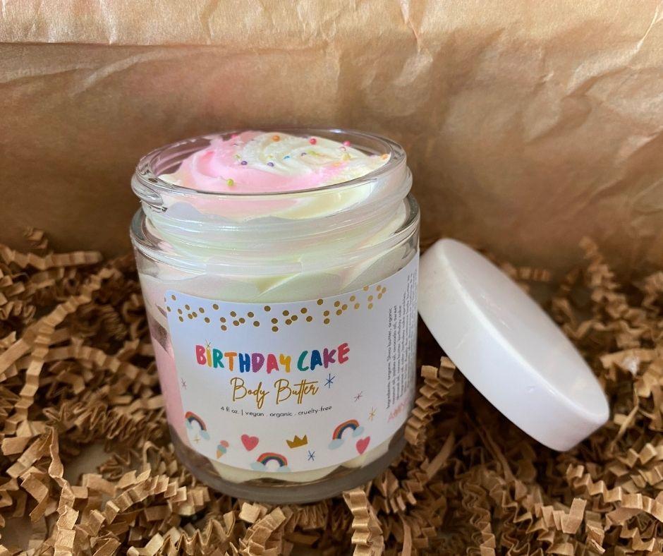 Aminnah - Birthday Cake Body Butter | WWW.AMINNAH.COM | $20