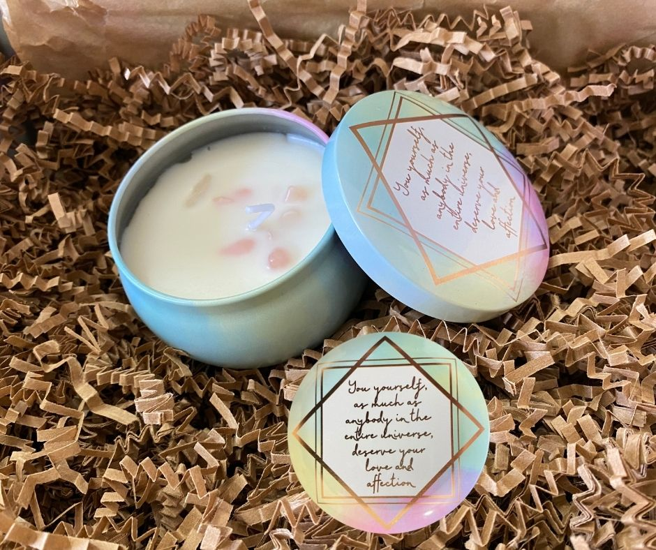 WILLOW COLLECTIVE | SELF-LOVE CANDLE | WWW.WILLOW-COLLECTIVE.COM | $15